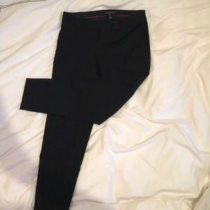 Banana Republic Sloan Fit Black Cropped Pants